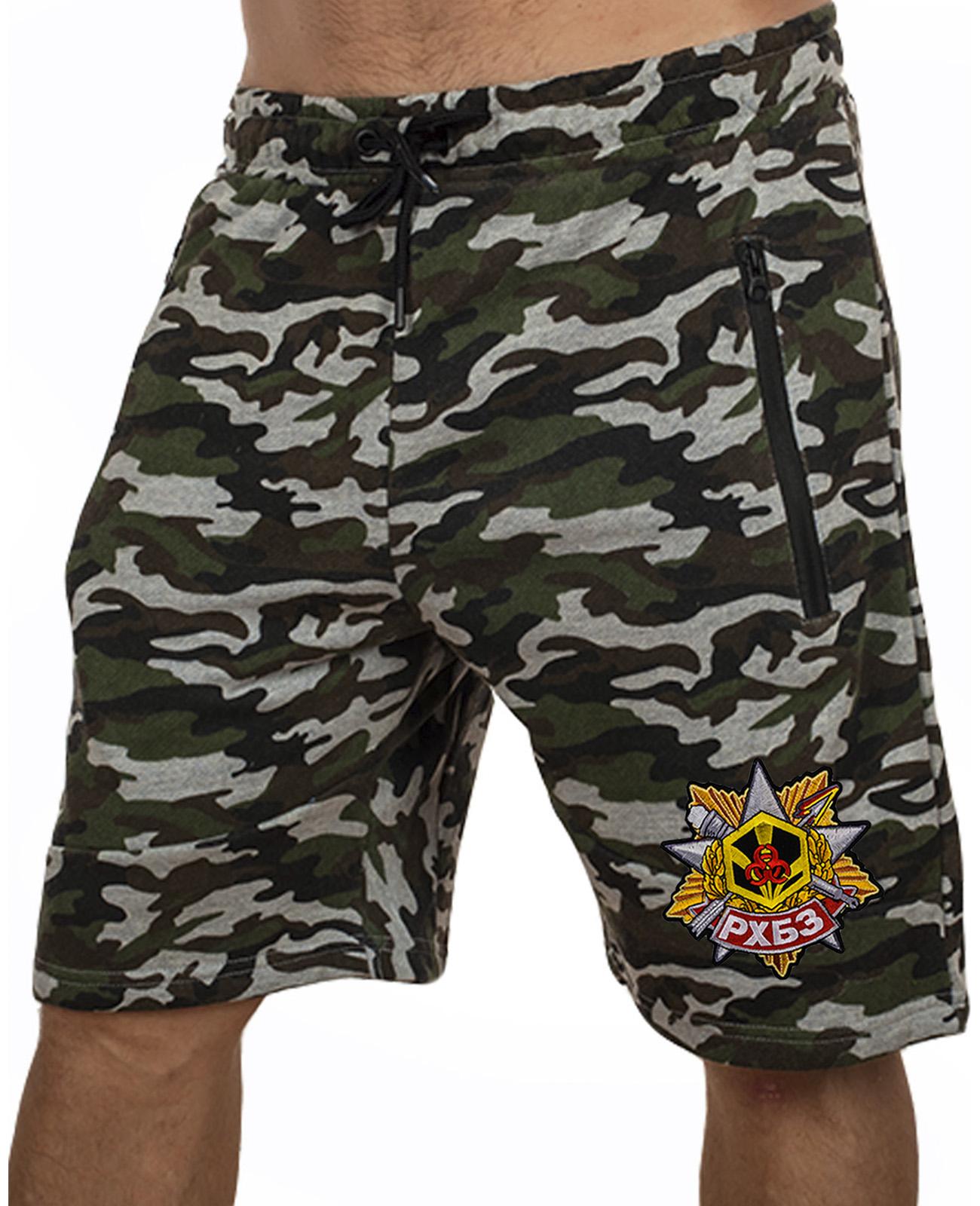Купить особенные милитари шорты с нашивкой РХБЗ по экономичной цене
