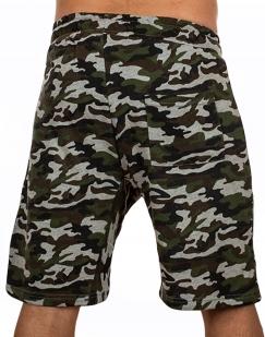 Особенные милитари шорты с нашивкой РХБЗ - заказать в розницу