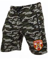 Особенные милитари шорты с нашивкой Росгвардия