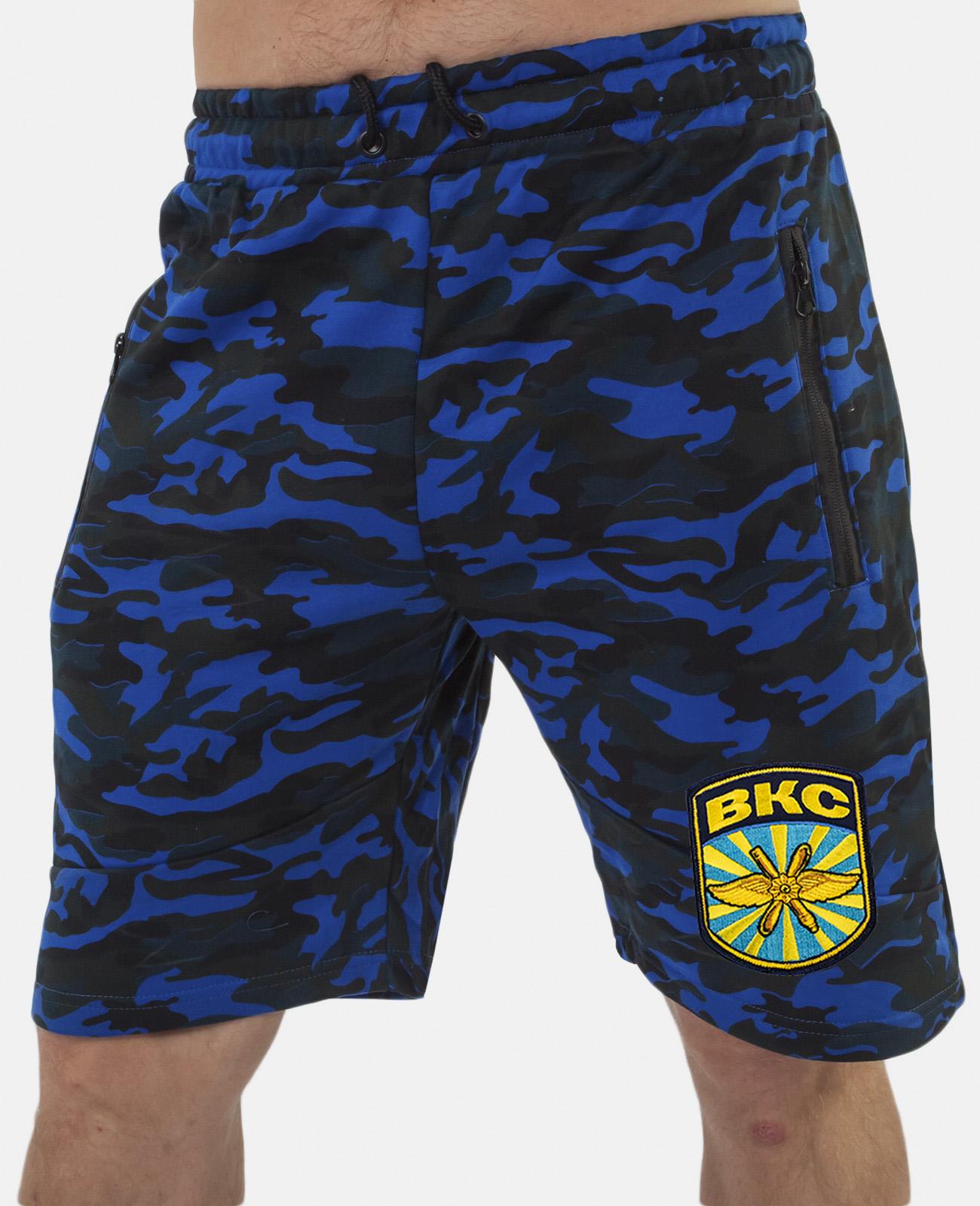 Купить особенные милитари шорты с нашивкой ВКС в подарок мужчине