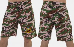 Особенные удлиненные шорты с нашивкой РХБЗ - заказать в розницу