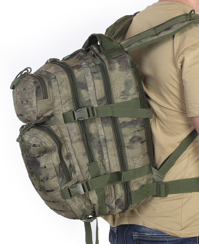 """Высокопрочный военный рюкзак камуфляж Росгвардии """"Мох"""" (30 л)"""