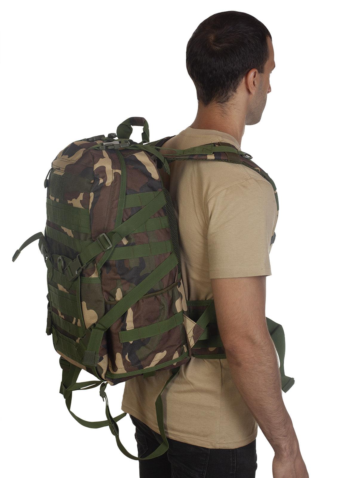 Высокопрочный военный рюкзак камуфляжа Woodland с доставкой