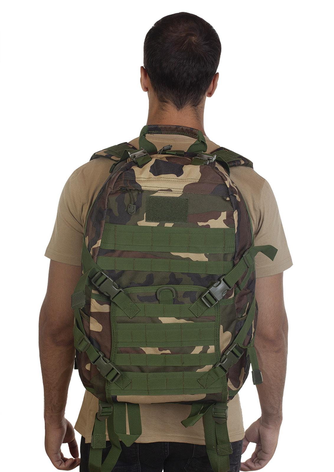 Высокопрочный военный рюкзак камуфляжа Woodland - купить онлайн