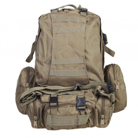 Особопрочный военный рюкзак для рыбаков и охотников (35-50 л)