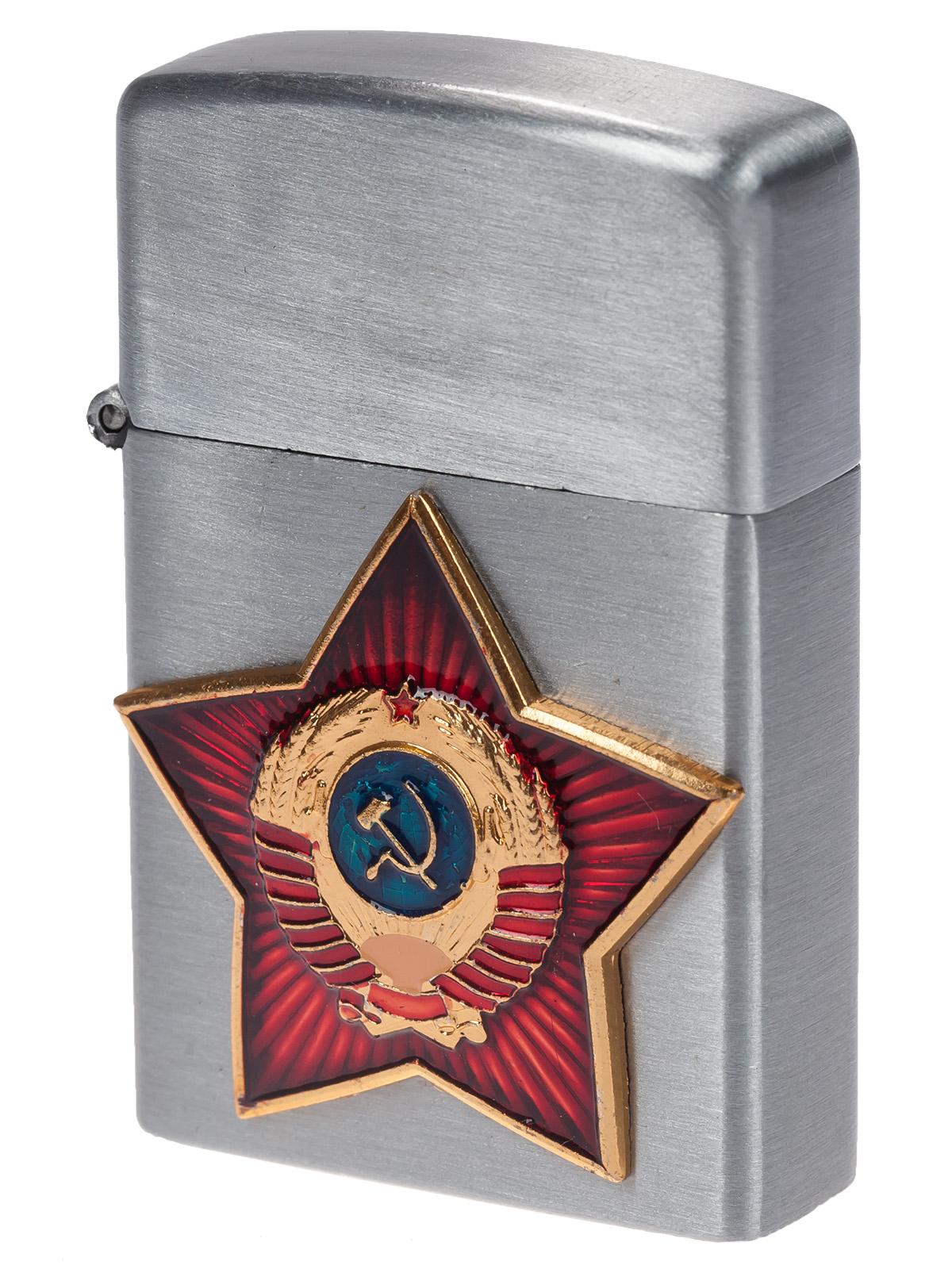 Заказать газовые зажигалки Zippo Советский Союз онлайн недорого