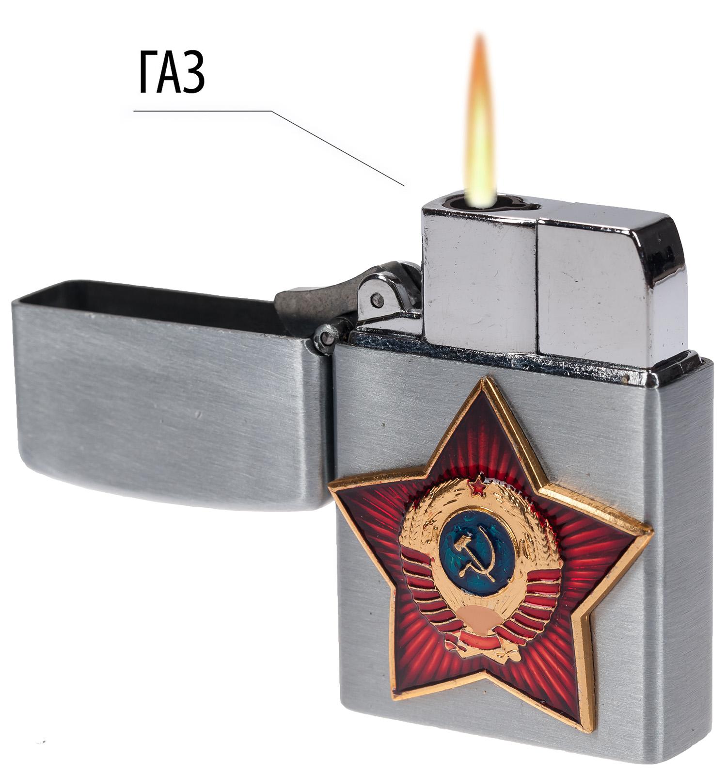 """Откидная зажигалка """"Советский Союз"""""""