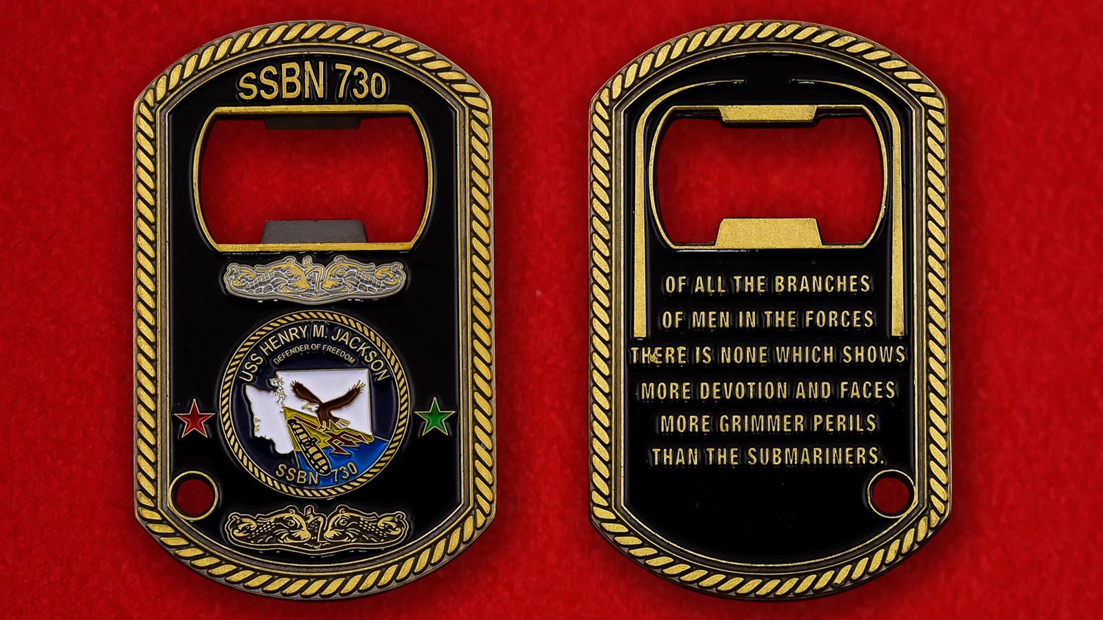 """Открывалка """"Подводная лодка ВМС США Henry M. Jackson"""""""