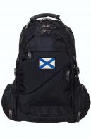 Отличный городской рюкзак с Андреевским флагом