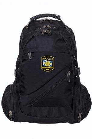 Отличный мужской рюкзак с шевроном ВМФ России