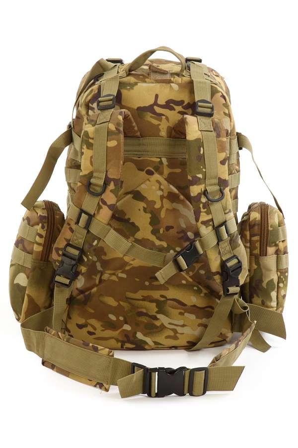 Заказать отличный тактический рюкзак в камуфляже Woodland