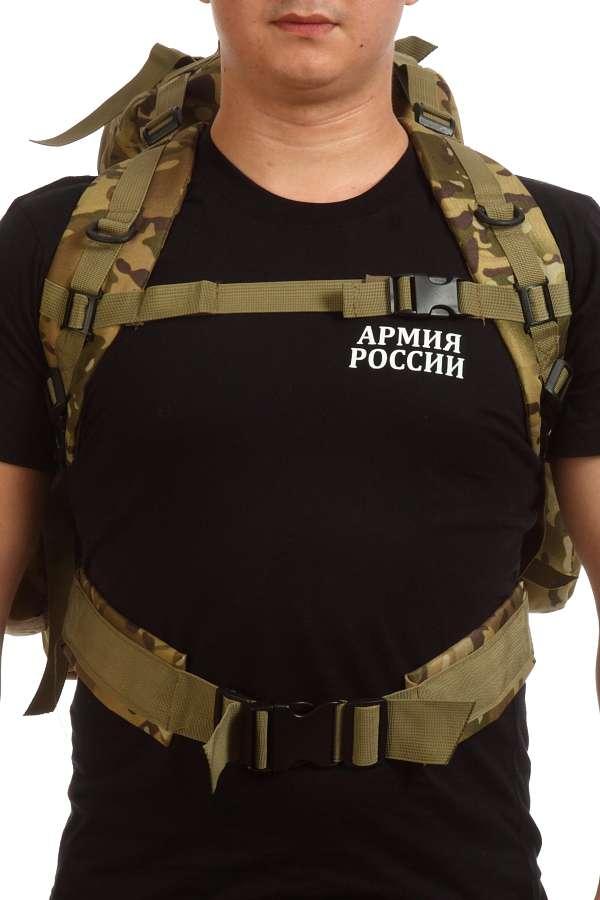 Отличный тактический рюкзак в камуфляже Woodland купить выгодно