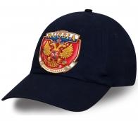 Отменная хлопковая авторская бейсболка с эмблемой государственной символики Russia для клиентов и подписчиков Военпро. Супер актуальный сувенир!