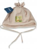 Брендовая флисовая женская шапка