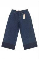 Женские джинсовые оверсайз бриджи Pieces.