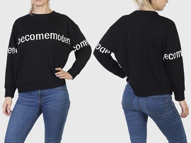Женский оверсайз свитер Sunblaze