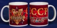 Памятная керамическая кружка СССР