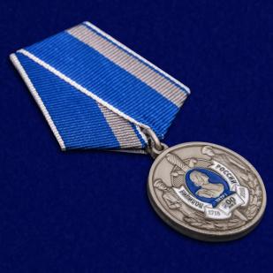 """Памятная медаль """"300 лет Полиции России"""" в футляре отменного качество"""