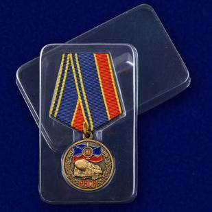 Памятная медаль 60 лет РВСН в футляре