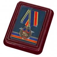 """Памятная медаль """"60 лет РВСН"""" в наградном футляре"""