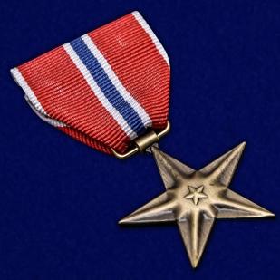 Памятная медаль Бронзовая звезда (США) - общий вид