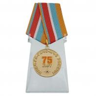 Памятная медаль Гражданская оборона на подставке