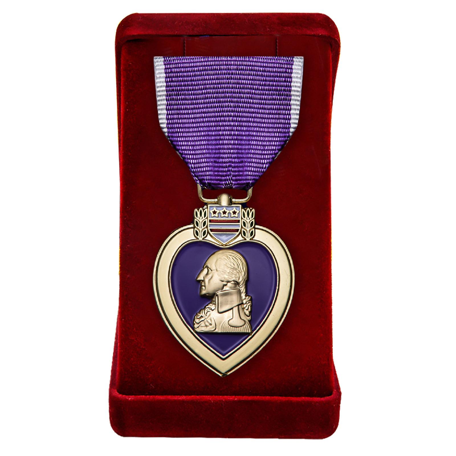 Купить медаль Пурпурное сердце (США) в подарок онлайн