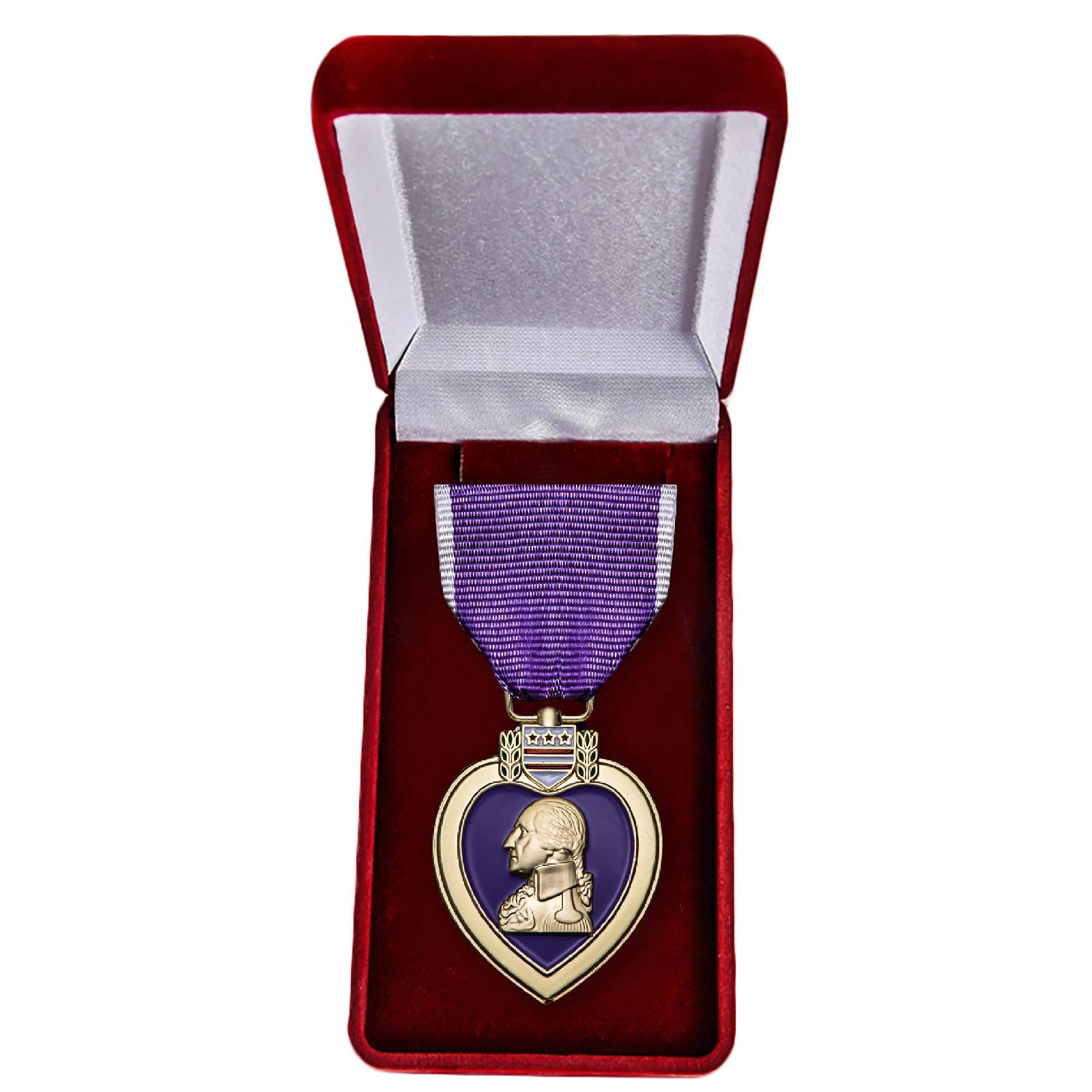 Памятная медаль Пурпурное сердце (США) - в футляре