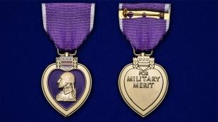 Памятная медаль Пурпурное сердце (США) - аверс и реверс
