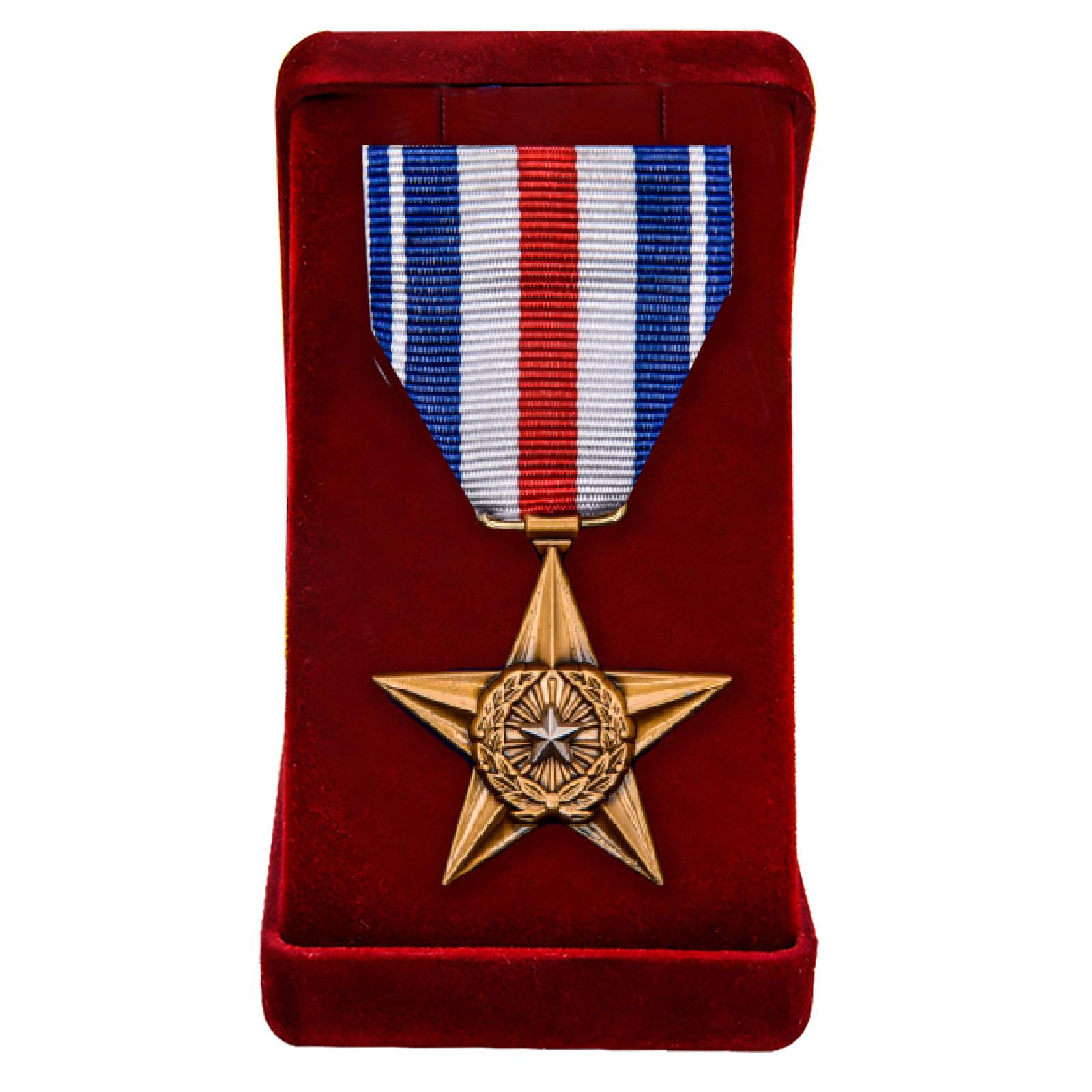 Купить медаль Серебряная звезда (США) в подарок онлайн