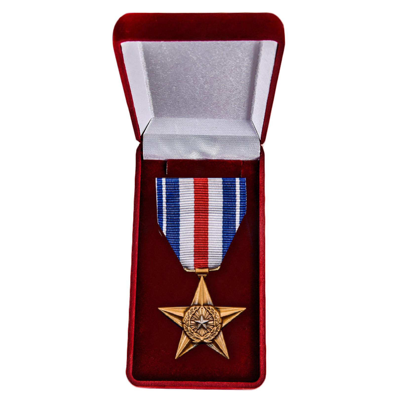 Памятная медаль Серебряная звезда (США) - в футляре