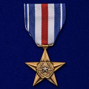 Памятная медаль Серебряная звезда (США) - общий вид
