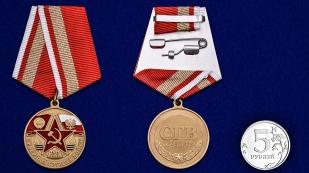 Памятная медаль Северная группа войск - сравнительный вид