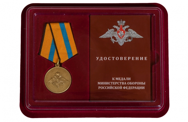 Памятная медаль Участнику борьбы со стихией на Амуре - в футляре