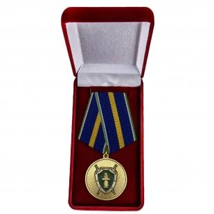 Памятная медаль Ветеран прокуратуры - в футляре
