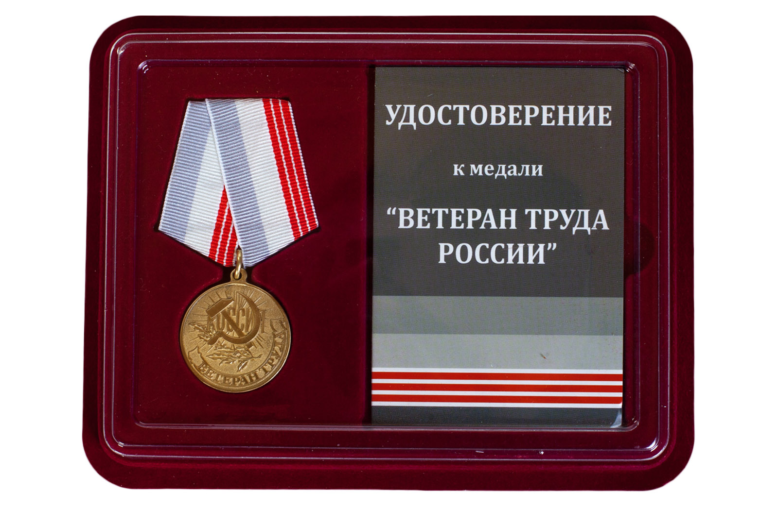 фото медаль ветеран труда россии
