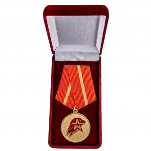 Памятная медаль Юнармии 1 степени - в футляре