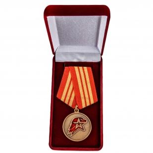 Памятная медаль Юнармии 3 степени - в футляре