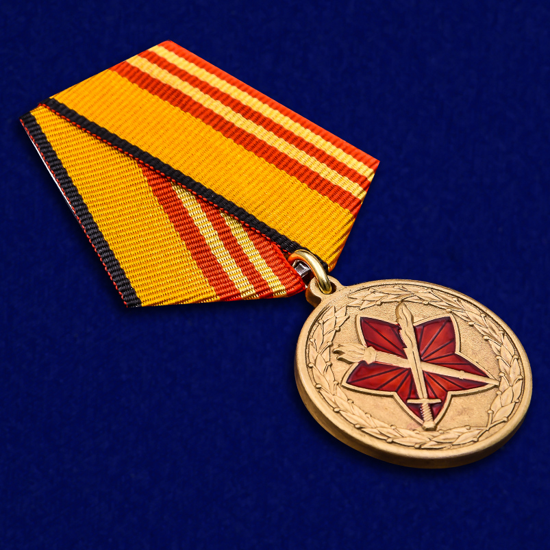 Памятная медаль За достижения в военно-политической работе - общий вид