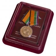 Памятная медаль За вклад в укрепление обороны РФ - в футляре