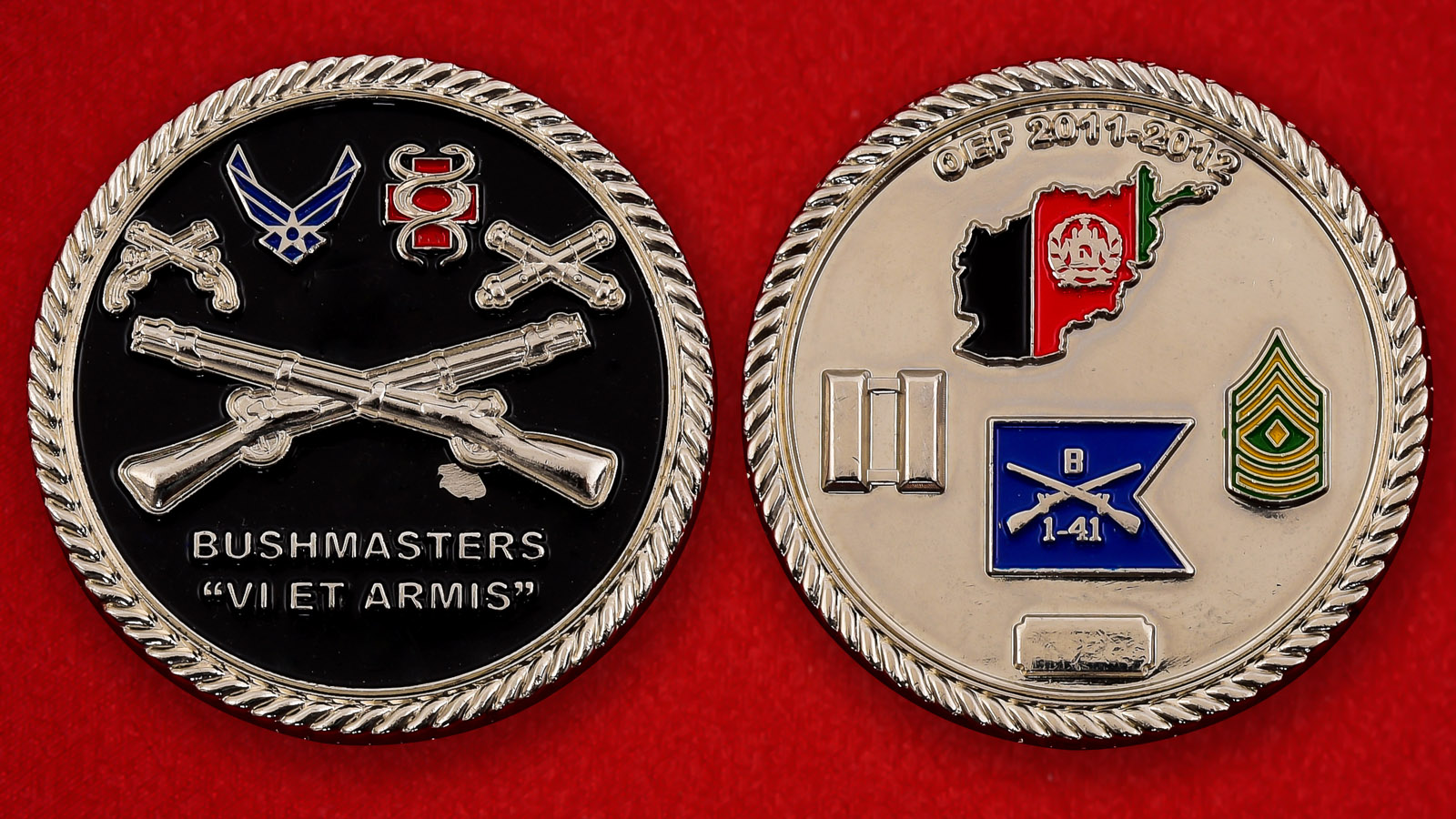 """Памятная монета компании Bushmaster """"Сила оружия"""""""