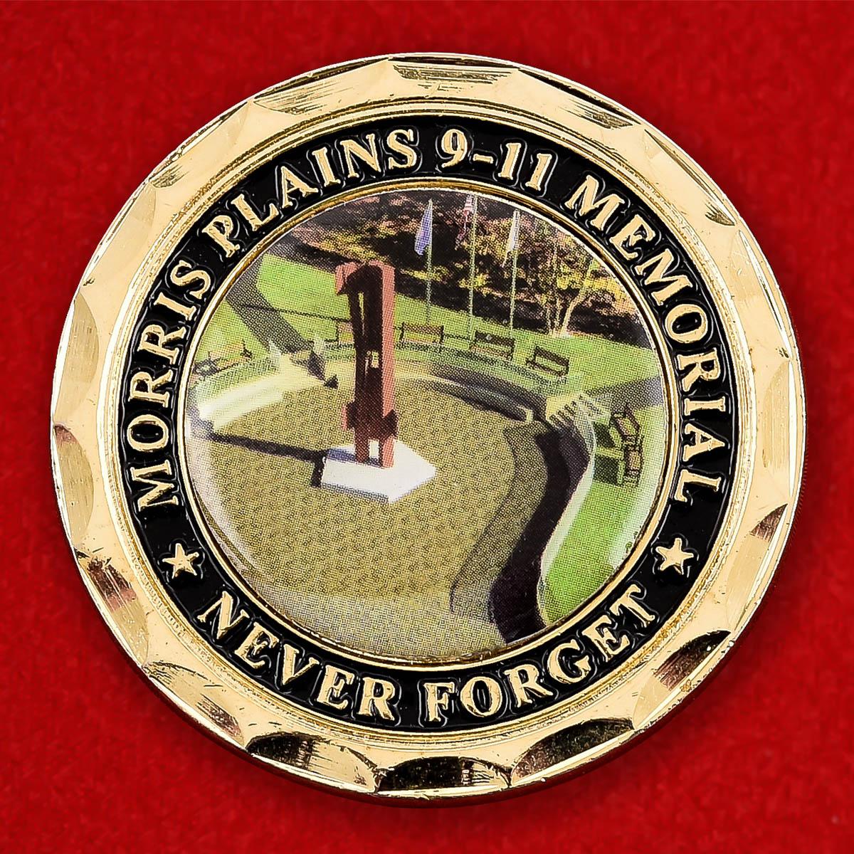 """Памятная монета США """"Мемориал пожарным в Моррис Плейнсе"""""""
