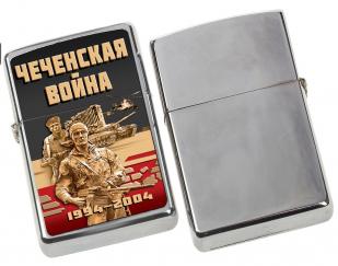 """Памятная зажигалка """"Чеченская война"""" с доставкой"""