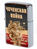 "Памятная зажигалка ""Чеченская война"""