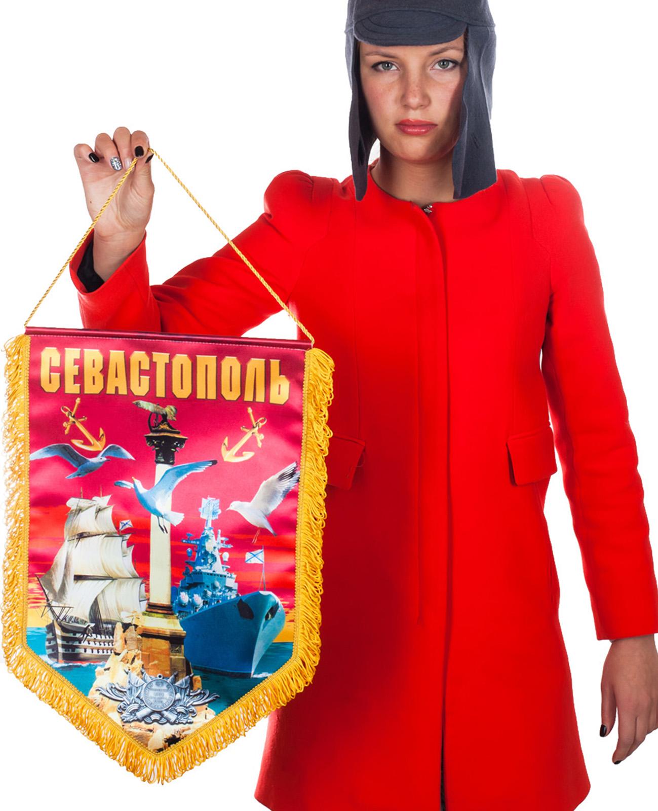 """Заказать памятный вымпел """"Севастополь"""""""