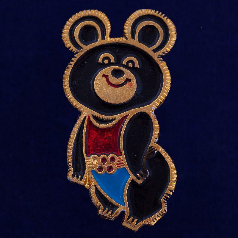 """Памятный значок """"Олимпийский мишка"""""""
