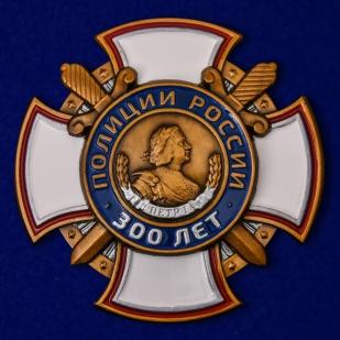 Памятный знак 300 лет полиции России - общий вид