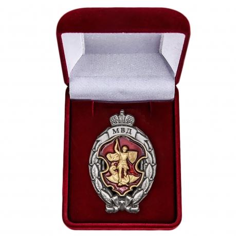 Памятный знак МВД Лучший сотрудник специальных подразделений полиции - в футляре