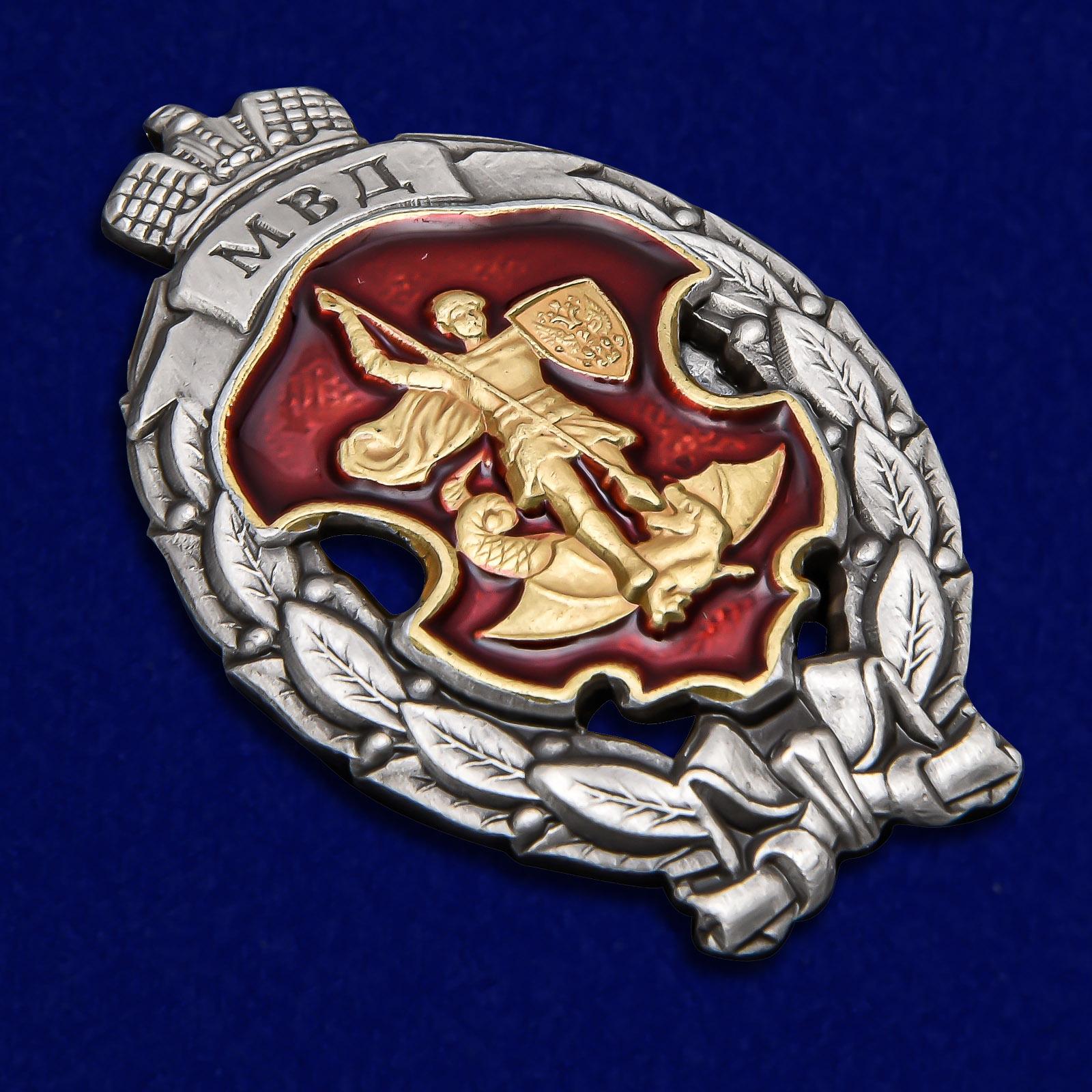 Памятный знак МВД Лучший сотрудник специальных подразделений полиции - общий вид