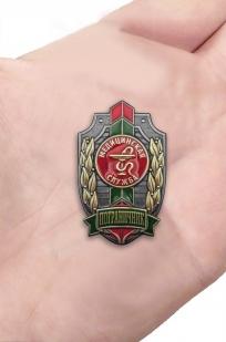 Памятный знак Пограничник Медицинская служба - видна ладони
